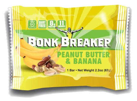 Bonk Breaker Energy Bar Peanut Butter and Banana