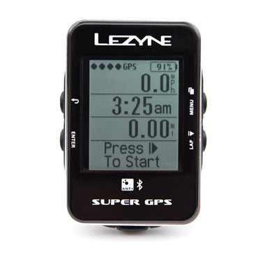 Lezyne Super GPS Cycling Computer
