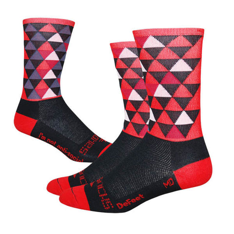 Sako7socks Pro-Solitude Red Edition - Racer Sportif