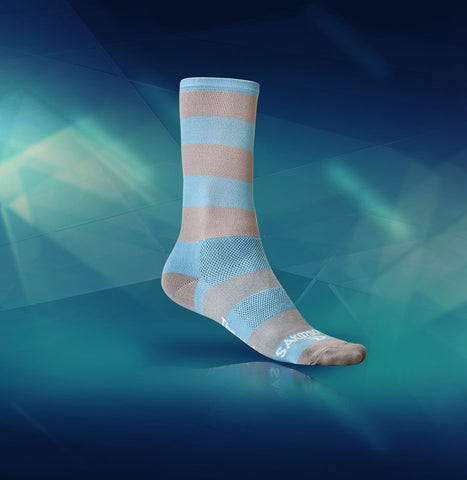 Sako7socks Carolina Blues - Racer Sportif