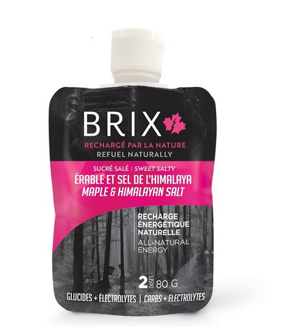Brix Maple Syrup and Himalayan Salt Gel - 80 G