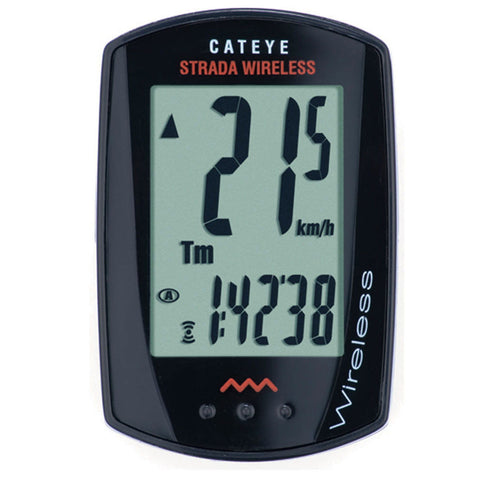 Cateye Strada Wireless, CC-RD300W Cycling Computer Black - Racer Sportif