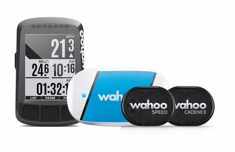 Wahoo Elemnt Bolt GPS Cycling Computer Bundle