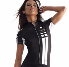 Assos SS.lady Cycling Jersey - Black Volkanga
