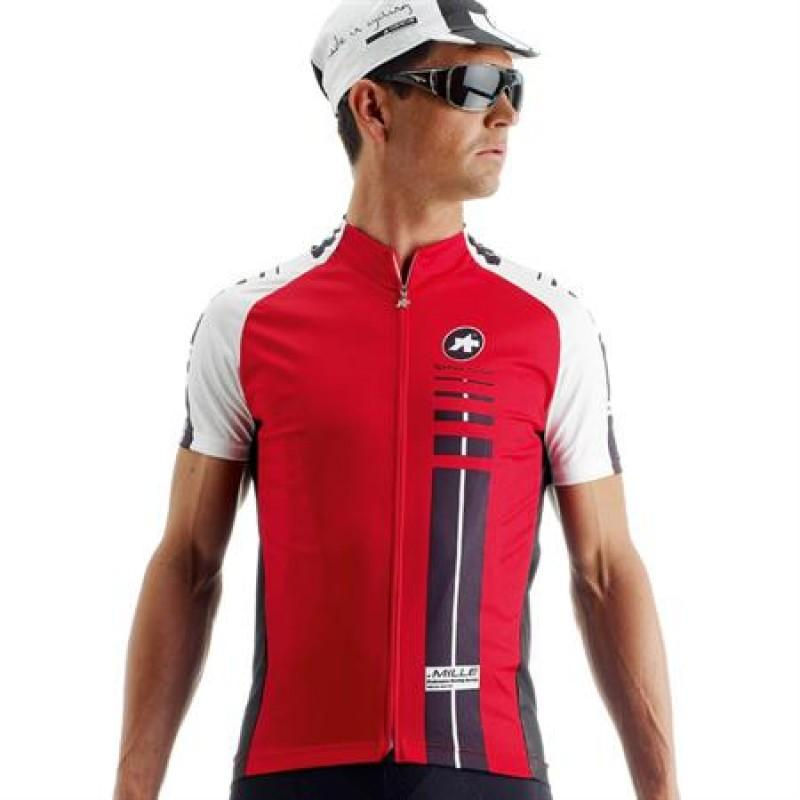Assos SS.Mille Short Sleeve Jersey - Red