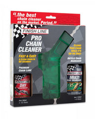 Finish Line Pro Chain Cleaner Kit in box