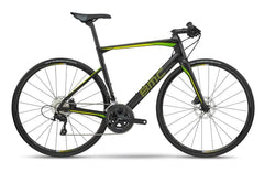2018 BMC Roadmachine 02 Disc Flatbar - 105 Road Bike - Carbon Lime