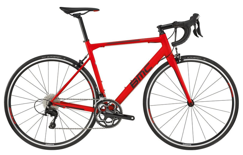 2018 BMC Teammachine ALR01 TWO - 105 Road Bike - Super Red
