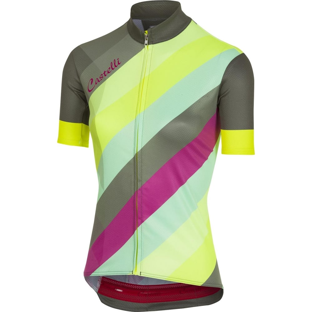 Castelli Women's Full Zipper Prisma Jersey