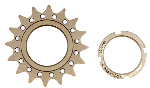 Real Speed C1 Track Cog & Support - Racer Sportif