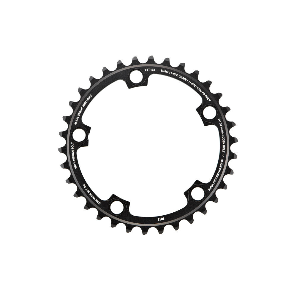 Sram Red 22 & Force 22 & Rival 22 34T Chainring - 110 MM BCD