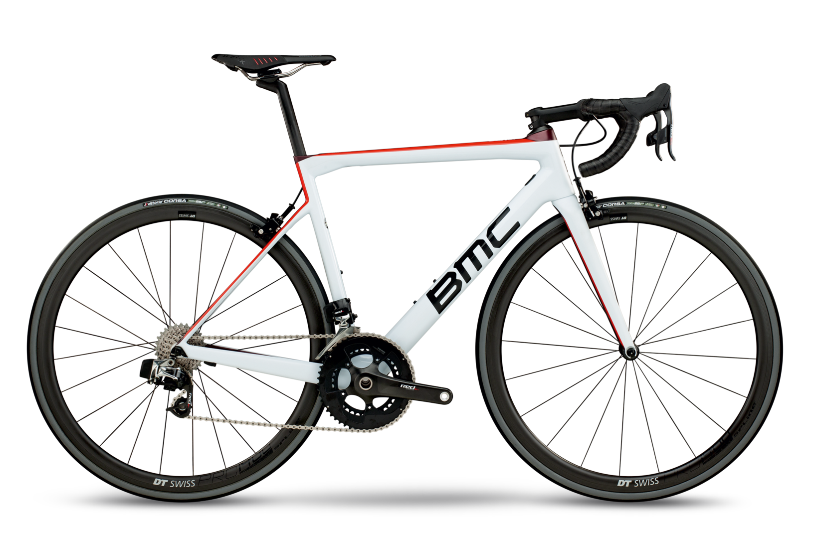 2018 BMC Teammachine SLR01 ONE - Red eTap Road Bike