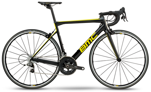 2018 BMC Teammachine SLR01 TWO - SRAM Red Road Bike - Carbon Yellow