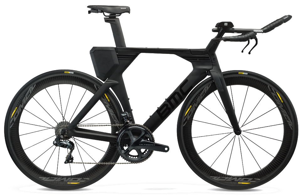 2018 BMC Timemachine01 THREE - Ultegra Di2 Tri Bike - Stealth