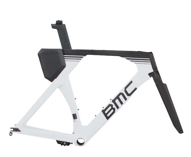 2018 BMC Timemachine02 Frameset Tri Bike - White