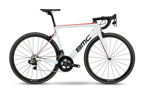 2018 BMC teammachine SLR01 ONE - White Red