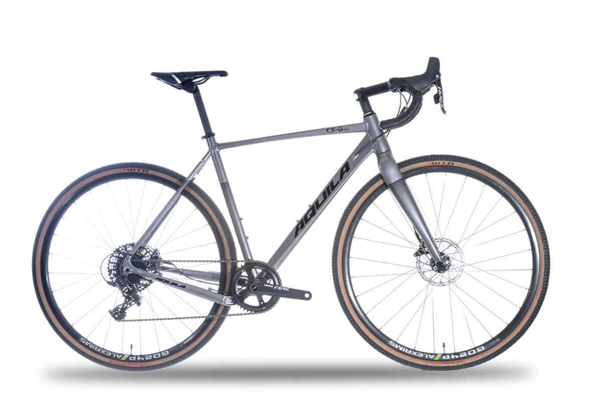 Aquila CX-G AL Apex 1 Gravel Bike - Disc Brake