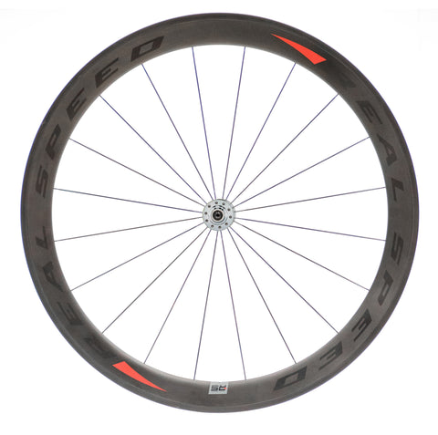 Real Speed Carbon Clincher Wheel Set - DT 180 Hub - Racer Sportif