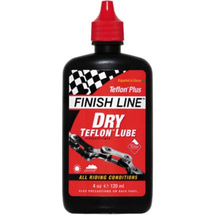 Finish Line Teflon Plus Dry Lube 120ml - Racer Sportif