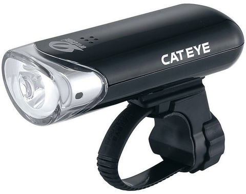 Cateye HL-EL135, 3 LED Front Light Black - Racer Sportif