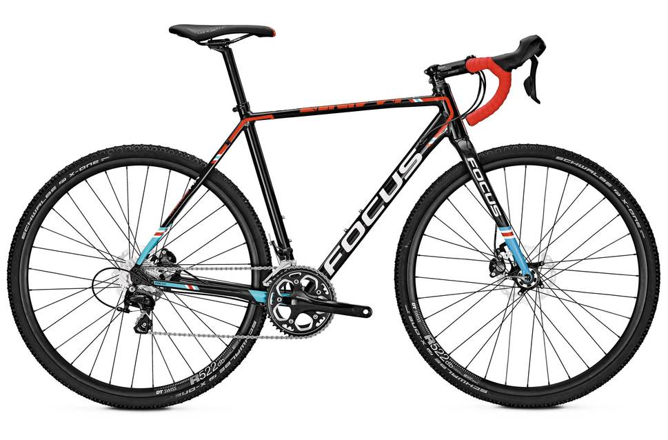 Focus Mares AL - Shimano 105 5800 11 Speed Cross Bike - Magic Black