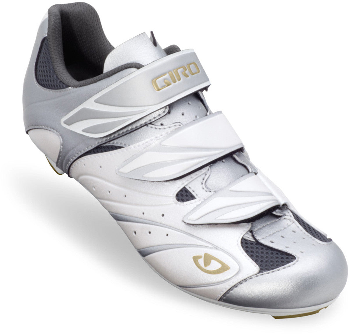 Giro Sante Women's Road Shoe white & silver