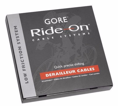 Gore Ride-On Extra Long Brake Cable Set - Grey - Racer Sportif