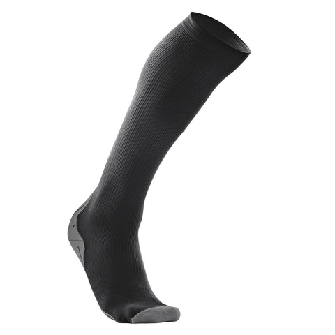 Black 2XU Men's Compression Sock for Recovery