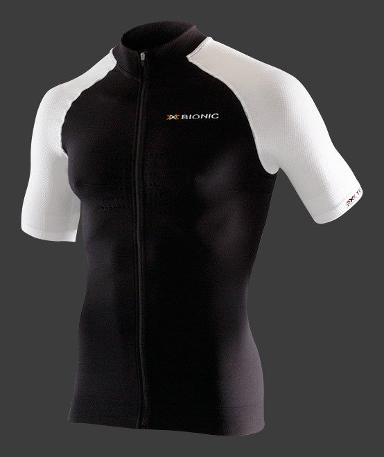 X-Bionic Race Shirt SS Full Zip BT 2.2 - Racer Sportif