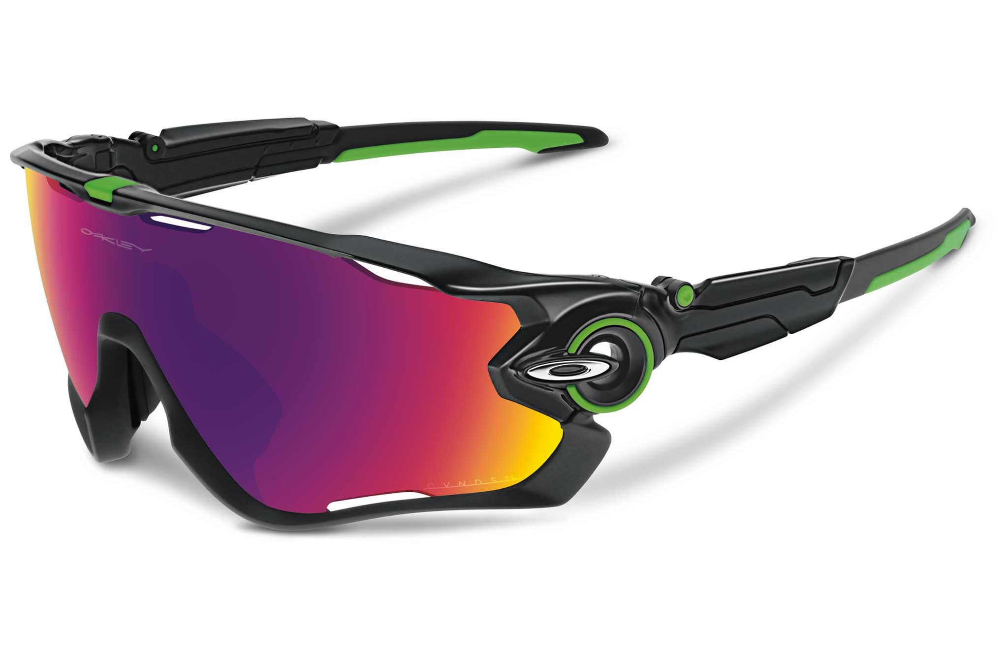 Oakley Jawbreaker Cavendish Polished Black w/ Prizm Sunglasses - Racer Sportif