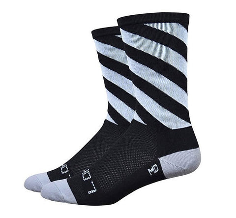 Sako7socks Off Kilter - Black/Grey/White - Racer Sportif