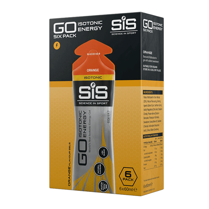 Science in Sport GO Isotonic Energy Gel Six Pack