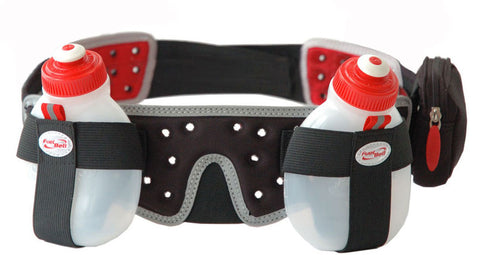Profile Design 2 Bottle Helium Fuel Belt - Racer Sportif