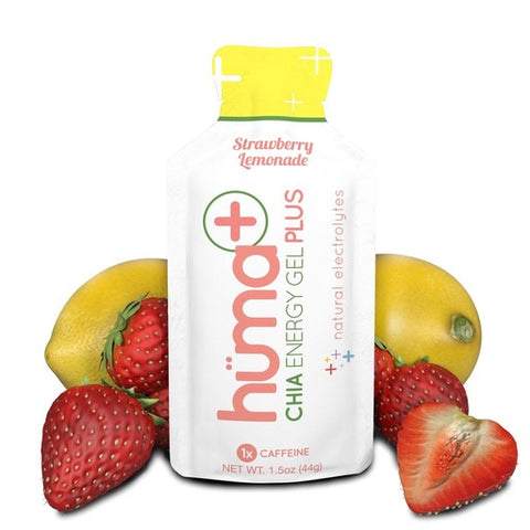 Huma Chia Energy Gel Plus - Strawberry Lemonade - Racer Sportif