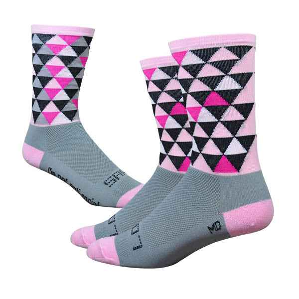 Sako7socks Pro-solitude Pink/Grey