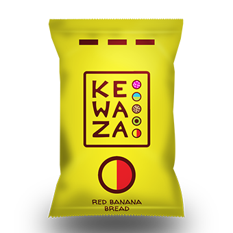 Kewaza Energy Balls - Red Banana Bread