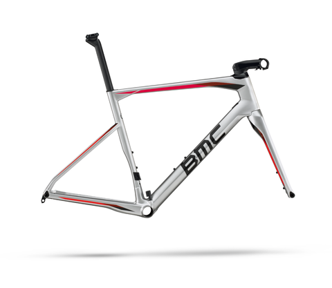 2017 BMC Roadmachine 01 Frameset - Silver Red