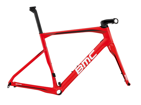 2017 BMC Roadmachine 01 Frameset - Team Red