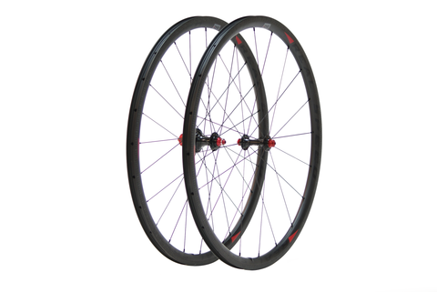 Real Speed RS20 Carbon Clincher Wheelset - Racer Sportif
