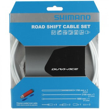Shimano Road Shift Cable Set - White - Racer Sportif