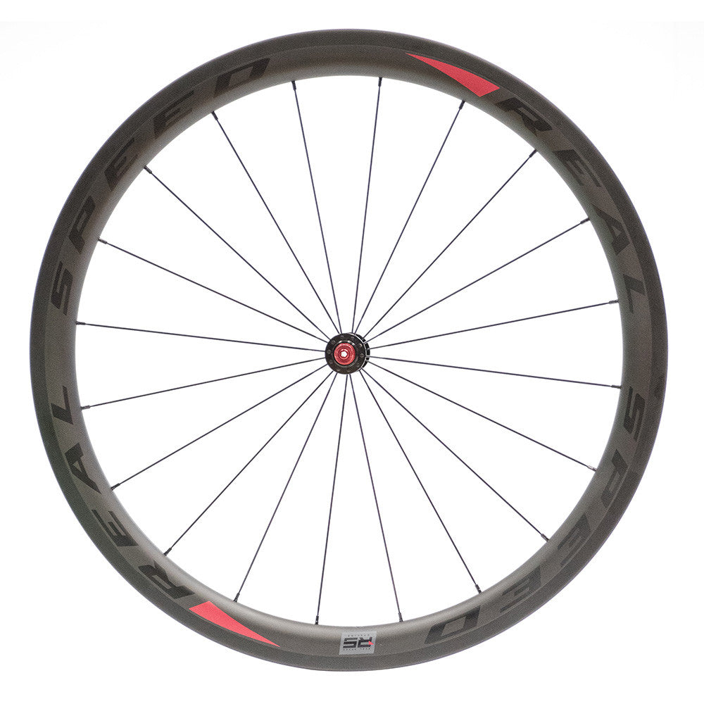 Real Speed Carbon Clincher Wheel Set - RS Hub