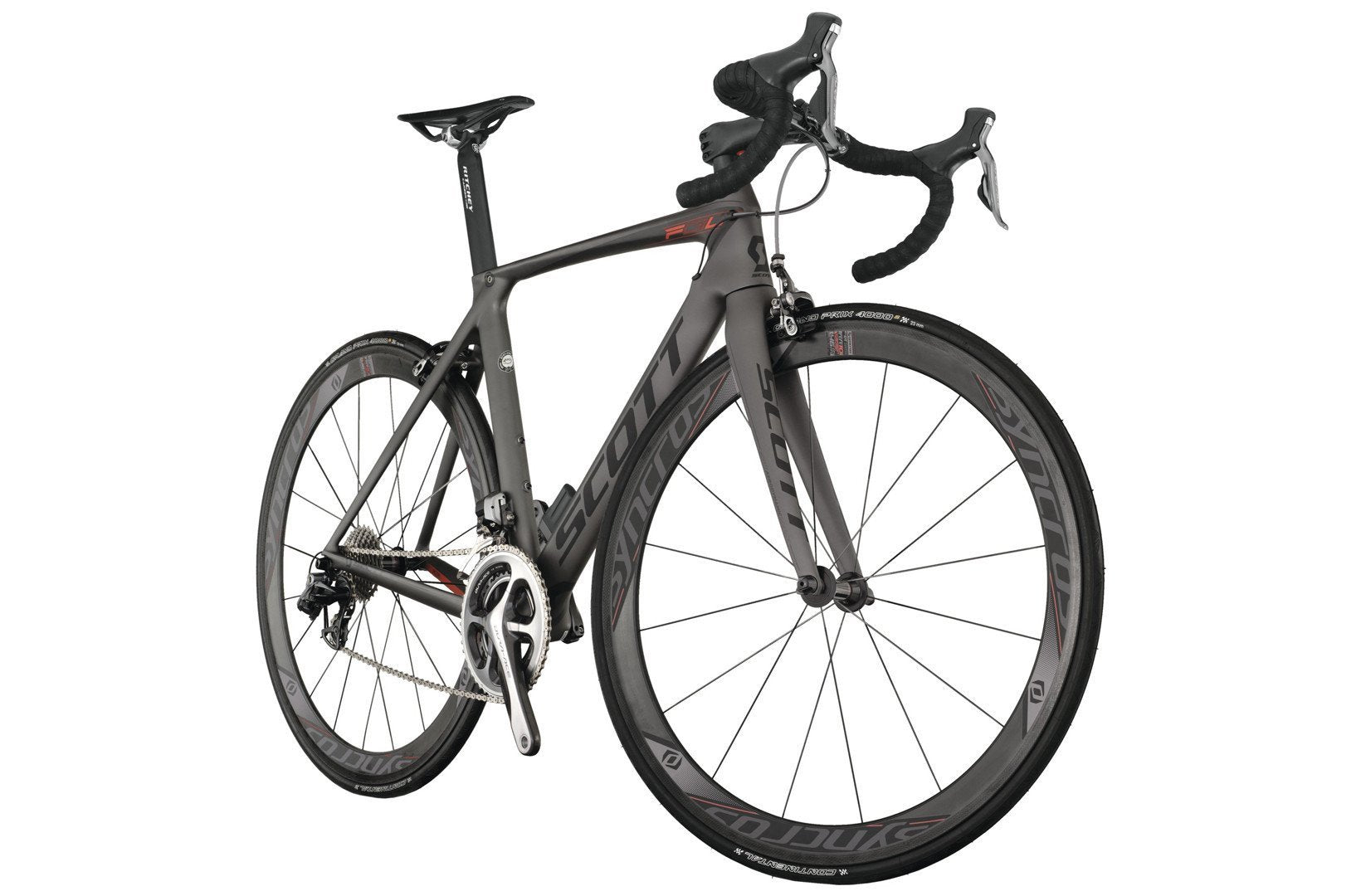 2013 Scott Foil Premium Road Bike Compact Drive Train Road Bike - Racer Sportif