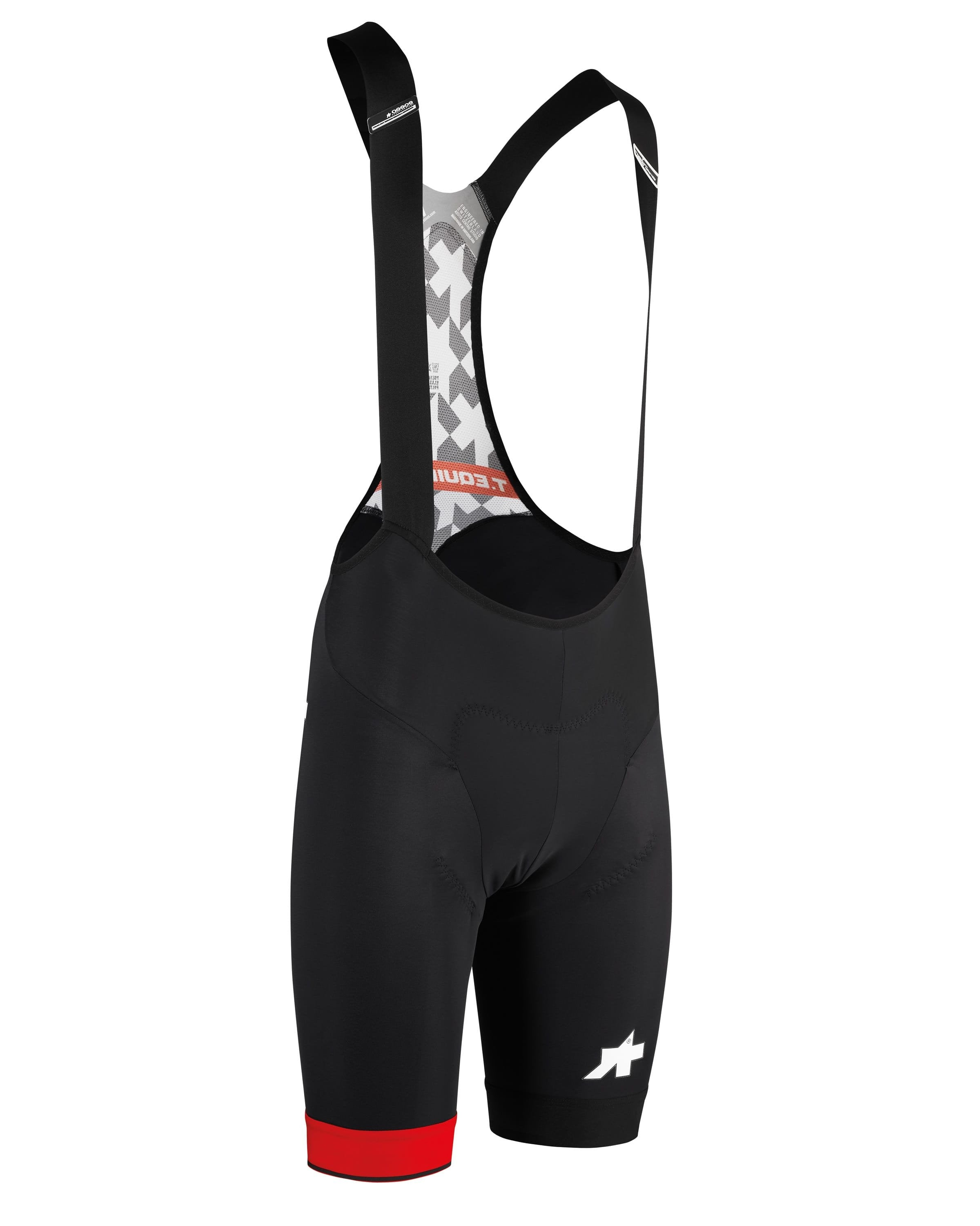 Assos T Equipe Evo Bib Shorts - National Red