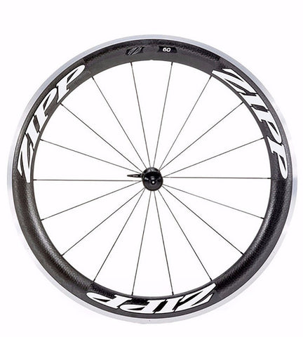 2014 Zipp 60 Carbon Clincher 10/11 Speed Wheel Set - Racer Sportif