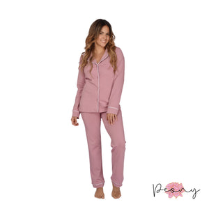 Co-ord cotton fleece tracksuit set