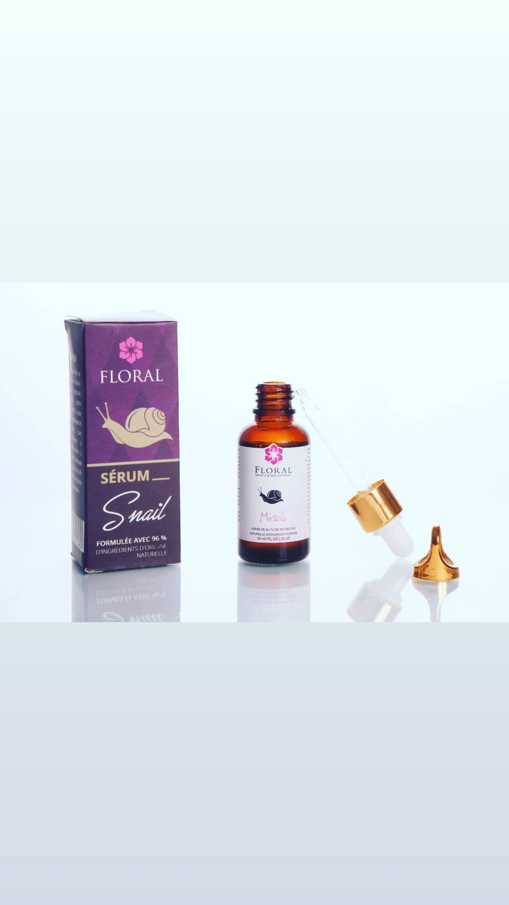 Serum bave d'escargot سيروم لعاب الحلزون