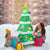 6 FT Inflatable Christmas Tree w/ Gift Boxes LED Bulbs Blow Up Yard Decoration CM22758US