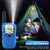 2/3 Pack Kids Walkie Talkies 3km Range 22 Channels 2 Way hand-free Interphone Mini Two-Way Radio Station Family Camping