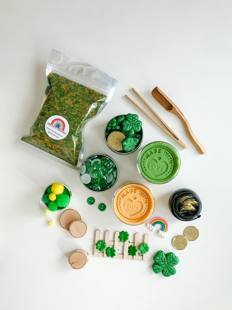 St. Patrick's Playdough Kit