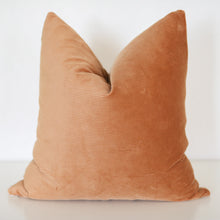 Load image into Gallery viewer, Corduroy Russet Brown Pillow Cover